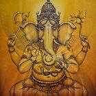 Ganesha darshan by Vrindavan Das