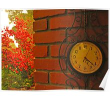 Time for Autumn Poster