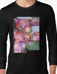 Bigger On The Inside - Vintage Electronic Fantasy Long Sleeve T-Shirt