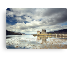 Eilean Donan Castle Reflection Canvas Print
