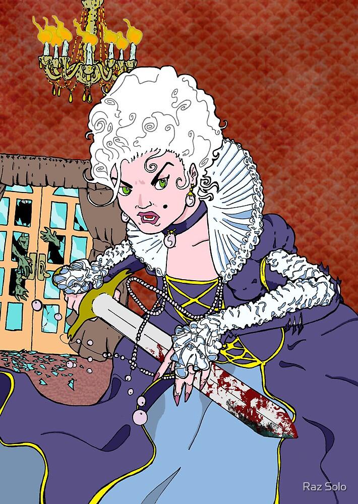 Jeannette-Marie, Zombie Slayer of Marseille by Raz Solo