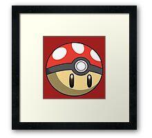 Pokéshroom Framed Print
