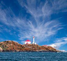 Lighthouse on the Coast by Ian Robertson