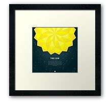 The Sun Framed Print