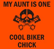 My Aunt Is One Cool Biker Chick Kids Clothes