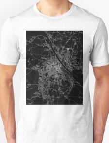 Vienna map Austria T-Shirt