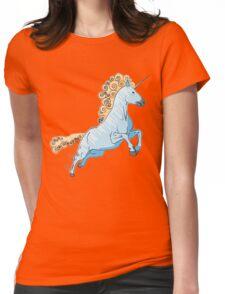 Unicorn Rush Womens Fitted T-Shirt