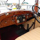 Vintage Sunbeam dashboard by alanf1