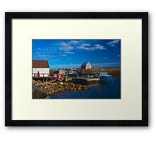 Blue Rocks, Nova Scotia, Canada Framed Print