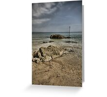 Tenby Seascape Greeting Card