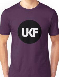 UKF-Black and White Unisex T-Shirt