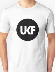 UKF-Black and White T-Shirt