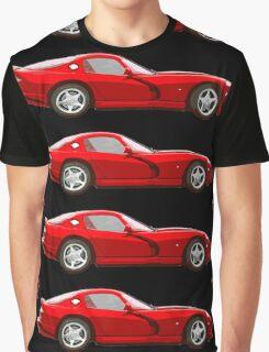 Dodge viper red _edited version cartoon Graphic T-Shirt