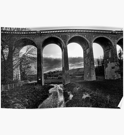 Eynsford Viaduct Over the Darent Valley Poster