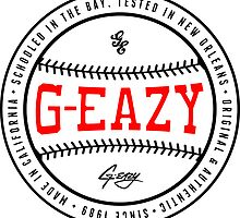 G-Eazy Baseball by rynwella