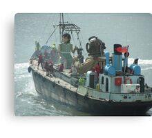 LIVERPOOL SEA ODYSSEY Canvas Print