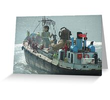 LIVERPOOL SEA ODYSSEY Greeting Card