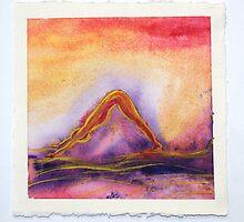 Downdog Sunset by sacredflow
