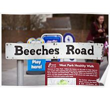 Beeches Road Poster