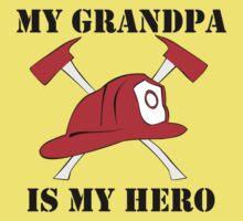 My Grandpa Is My Hero Baby Tee