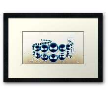 Liquid Pearls II Framed Print