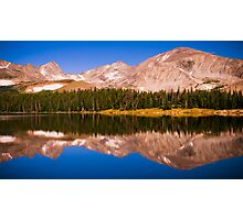 Indian Peaks Reflections Photographic Print