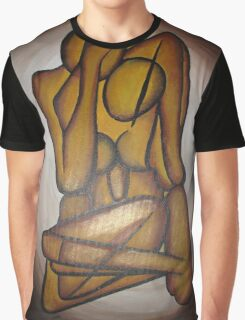 Abstract Lovers Graphic T-Shirt