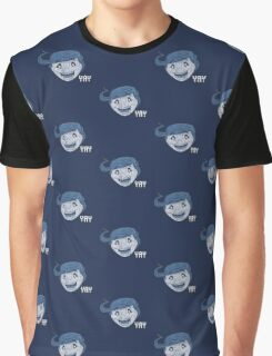 YAY vintage style Graphic T-Shirt