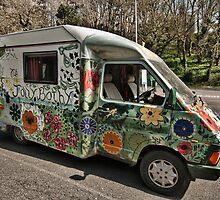 Painted Camper Van 2 by Steve Purnell