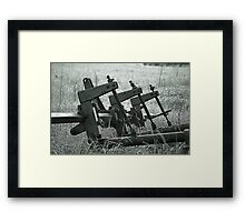 Farm Equipment Framed Print