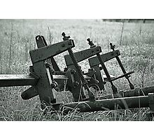 Farm Equipment Photographic Print
