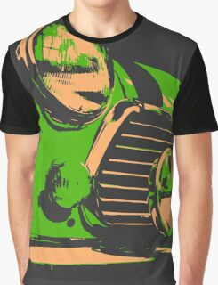 Classic Mini - Green Graphic T-Shirt