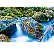 mountains streams Photographic Print