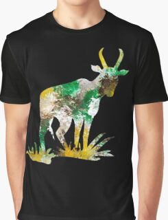 Forest Abstract Art Graphic T-Shirt