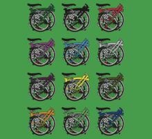 Brompton Bicycle Folded Kids Tee