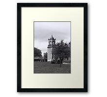 San Jose Mission Bell Tower Framed Print