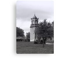 San Jose Mission Bell Tower Canvas Print