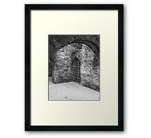 Corridors of the Spirit Framed Print