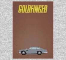 James Bond - Goldfinger minimalist poster One Piece - Long Sleeve