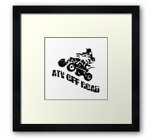 ATV OFF ROAD Framed Print
