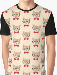The Geek Cat Graphic T-Shirt
