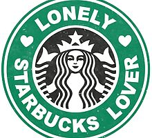 Lonely Starbucks Lover II by meandthemoon