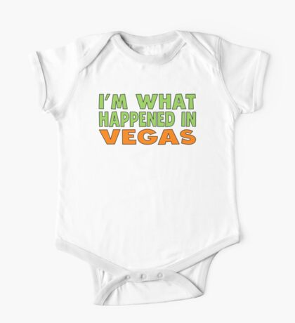 I'm What Happened In Vegas One Piece - Short Sleeve