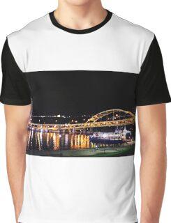 Bridge - The Gateway Clipper (Pittsburgh) Graphic T-Shirt