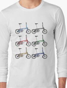 Brompton Bicycle Long Sleeve T-Shirt