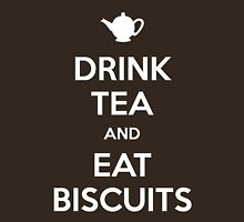 Drink Tea and Eat Biscuits Unisex T-Shirt