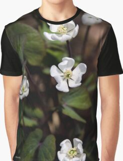 Anemone Flowers Graphic T-Shirt