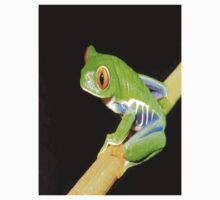 Red Eyed Tree Frog One Piece - Long Sleeve