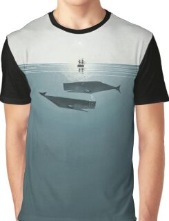 At sea. Graphic T-Shirt