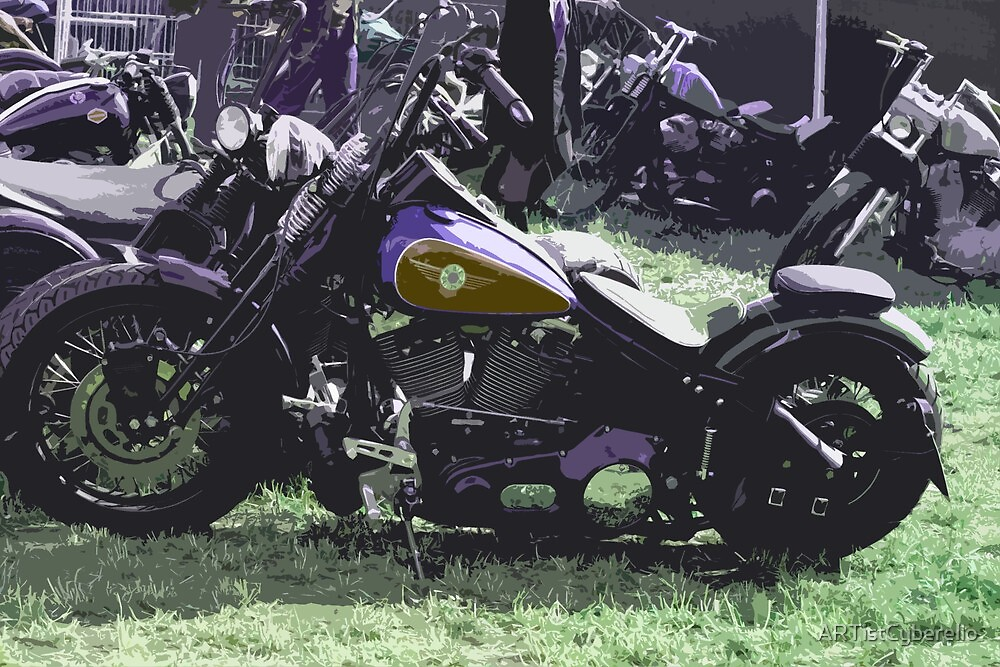 bikes popart II by ARTistCyberello
